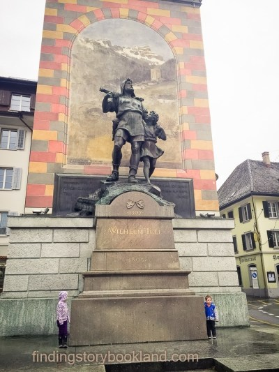 We found William Tell in Altdorf!