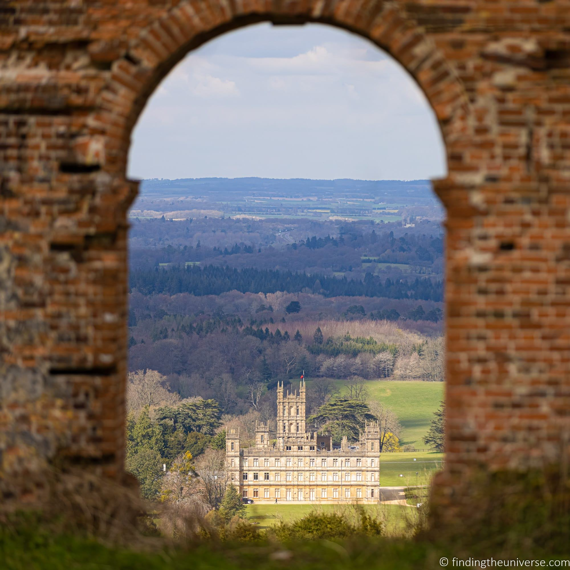 highclere Castle with R5