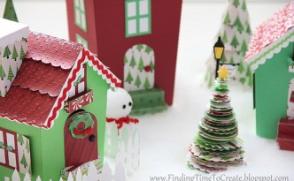 Christmas Village Assembly Tutorial
