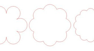 Design Your Own Scalloped Circles