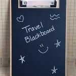 Travel Chalkboard