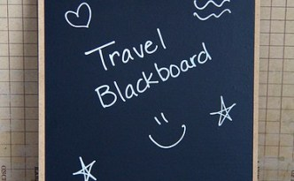Travel Chalkboard