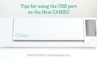New CAMEO USB Port