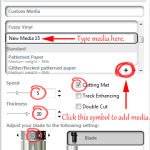 Adding Custom Material Settings