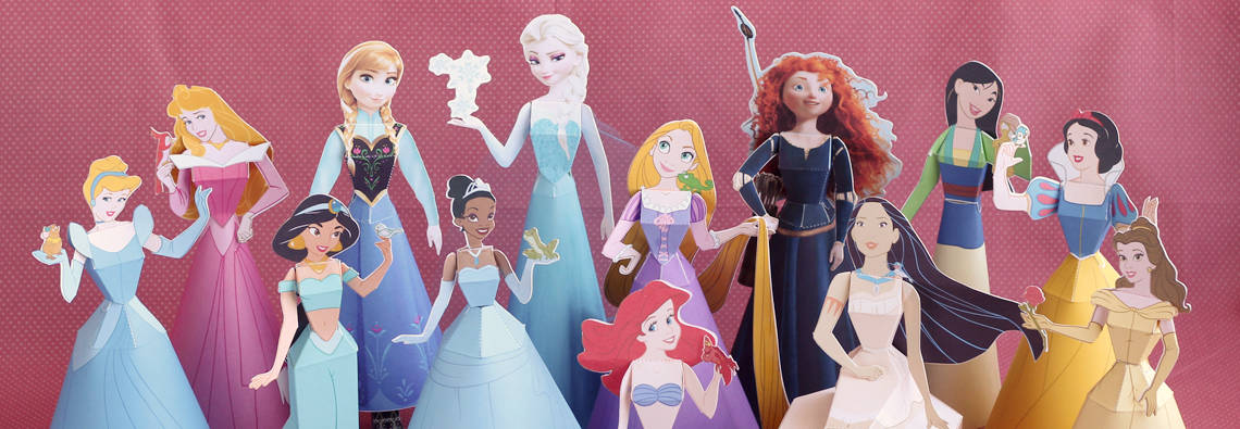 Disney Princess Paper Dolls