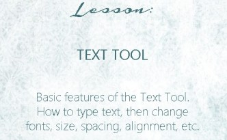 Silhouette Studio Lesson - Text Tool