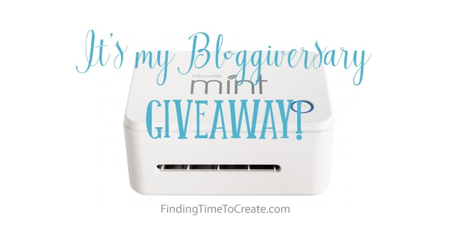 Bloggiversary - FInding Time To Create