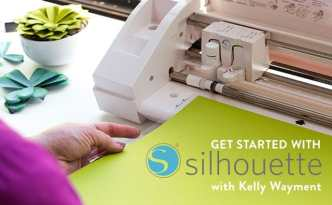 Get Started With Silhouette - a new Craftsy class by Kelly Wayment