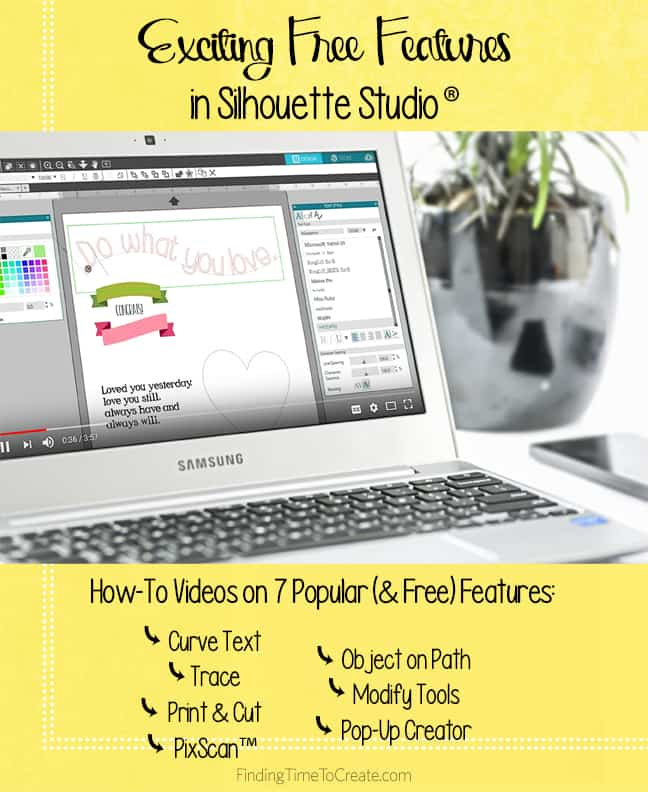 Exciting Free Features in Silhouette Studio - How To Videos