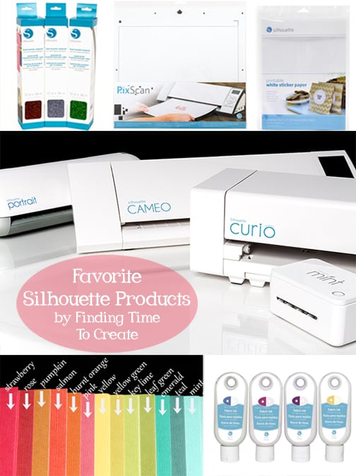 Favorite Silhouette Products May 2016 - Finding Time To Create