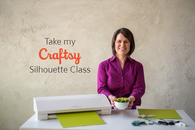 About My Craftsy Class - Get Started With Silhouette
