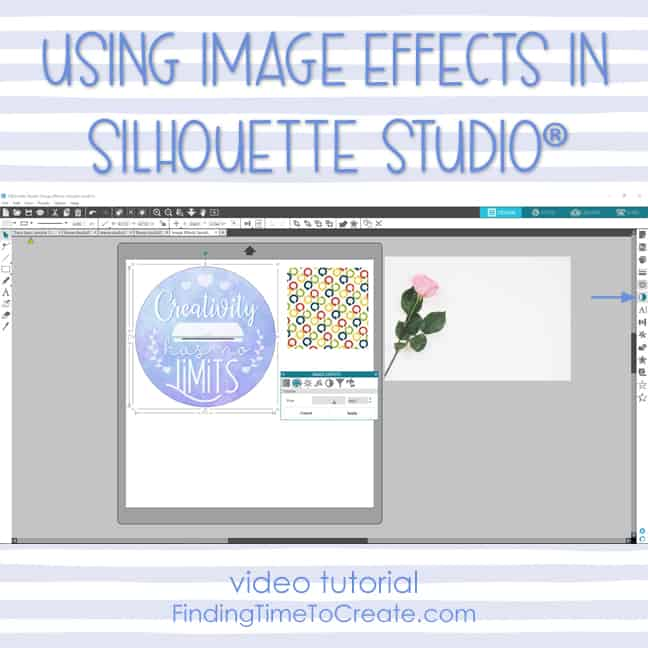 Using Image Effects in Silhouette Studio (video tutorial)
