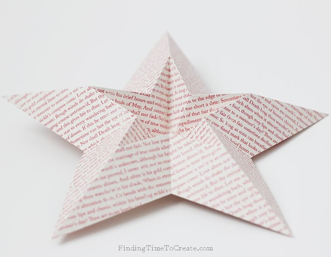 Paper Star Detail - Finding Time To Create