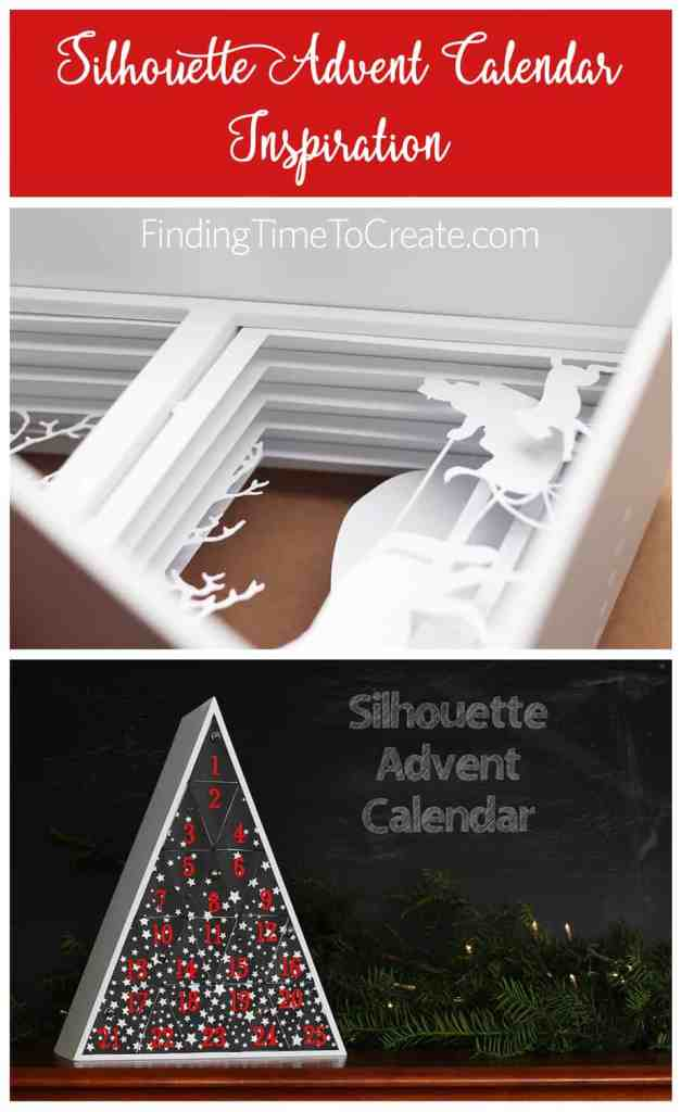 Silhouette Advent Calendar Inspiration - Finding Time To Create