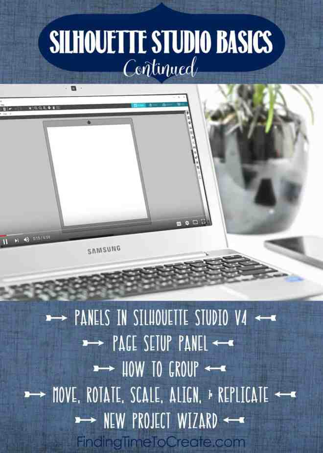 Silhouette Studio Basics