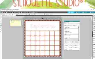 Using Sticky Notes In Silhouette Studio