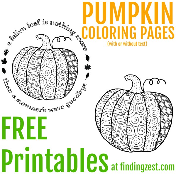 pumpkin coloring pages to print # 11