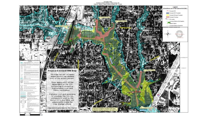 Eubanks Flood Plain Map Gets Conditional FEMA Approval   Find It In     eubanks firm map 2
