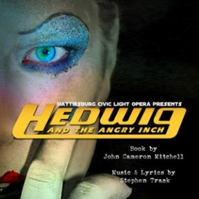 "Ardenland presents Hattiesburg Civic Light Opera's ""Hedwig and the Angry Inch"""