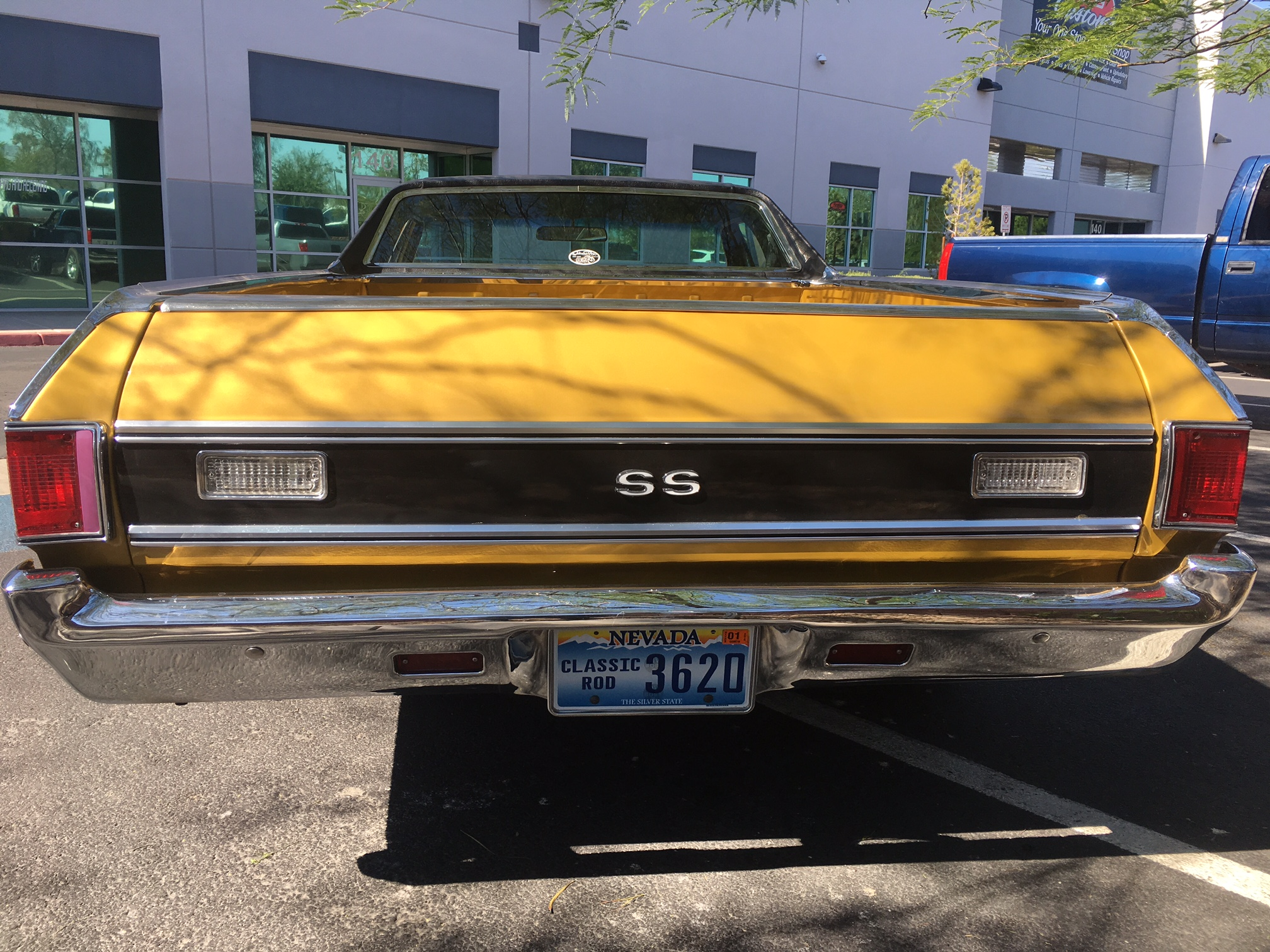 69′ EL CAMINO SS BUTTERSCOTCH – Findlay Customs