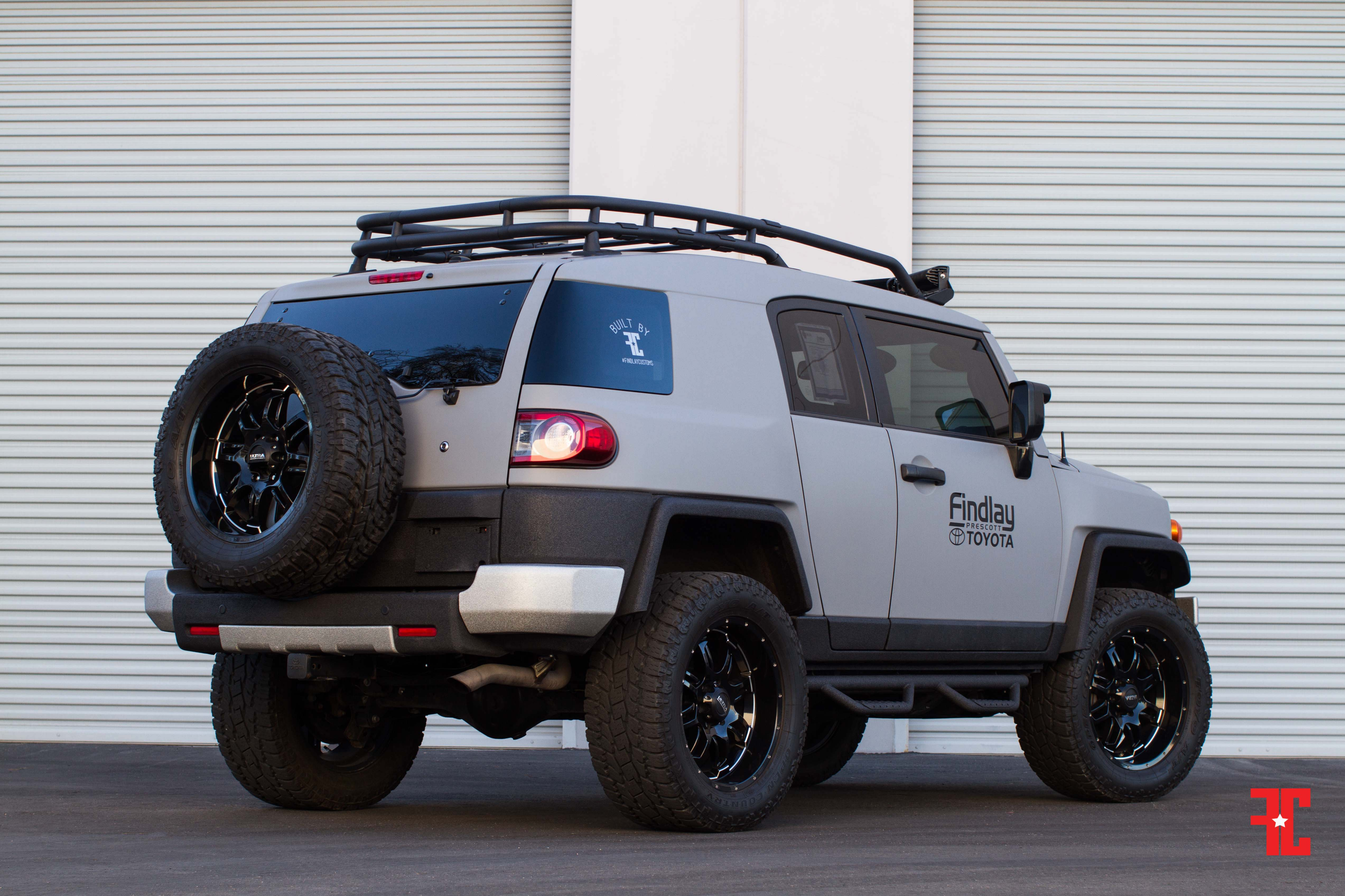 2014 Toyota Fj Cruiser Prescott Edition Findlay Customs