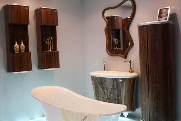 wood furniture ideas for bathrooms