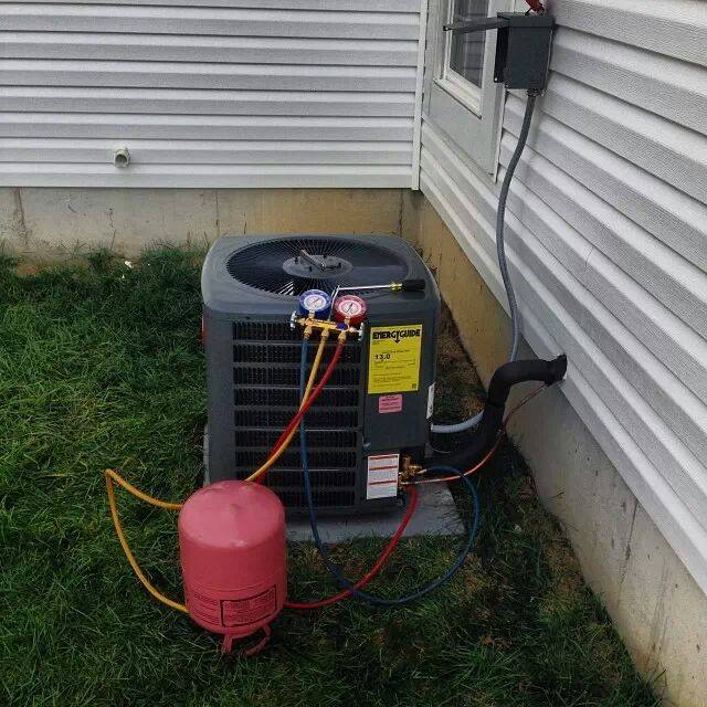 Air Conditioning Freon Check