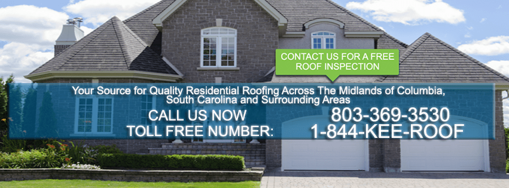 KEE Roofing Columbia Facebook Header