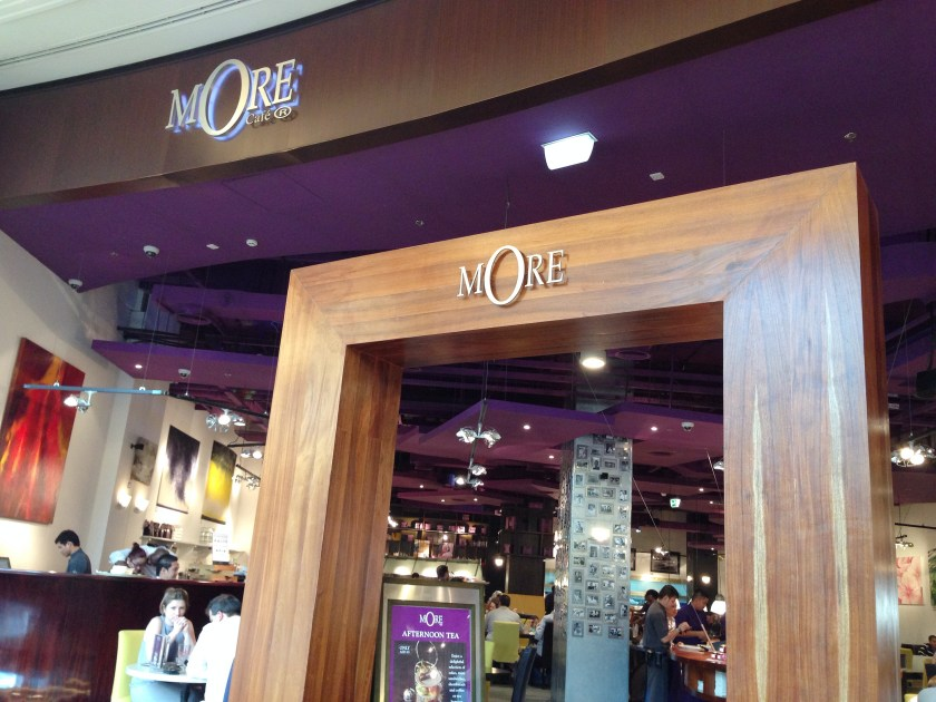mOre Cafe at Mall of Emirates