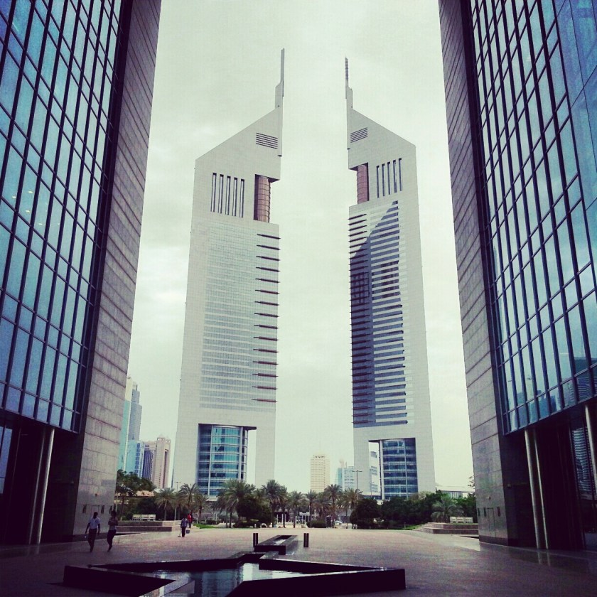 the twin Emirates Towers