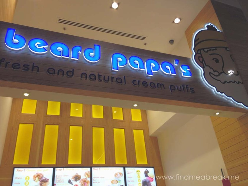 Beard Papa in Dubai Mall