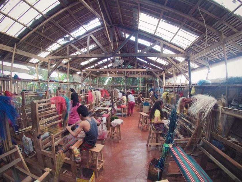 Palawan indigenous fibers