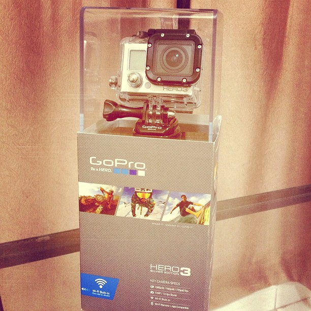 Unboxing GoPro