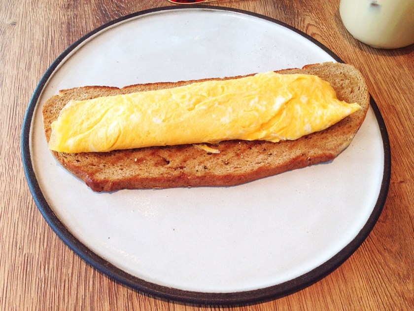 Mature Cheddar Cheese Omelette