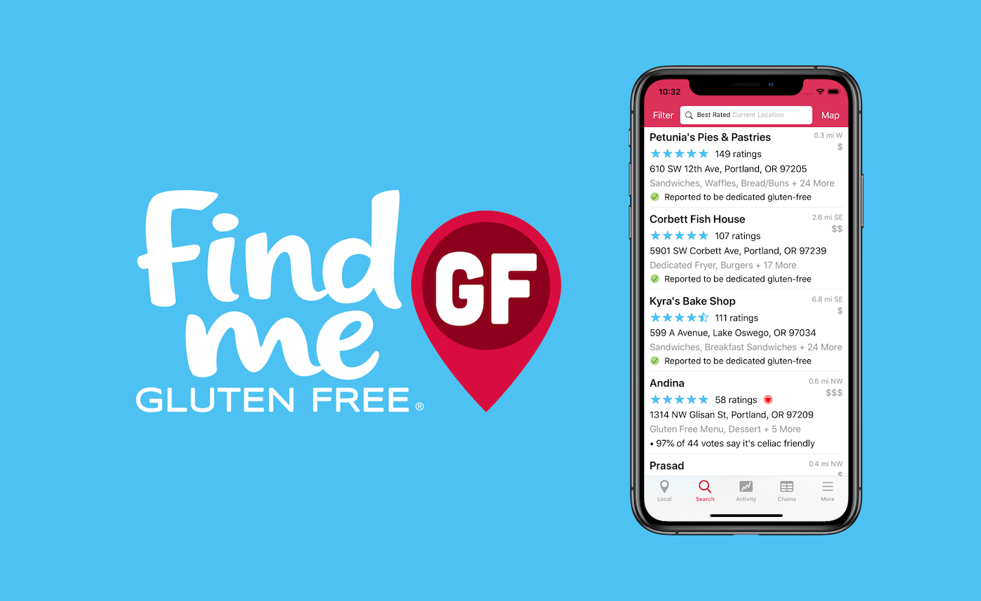 And whether or not they're coeliac, a lot of people prefer it. Find Me Gluten Free Find Gluten Free Friendly Restaurants Near You