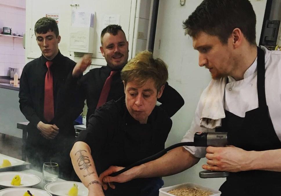 Chef Gareth Daw