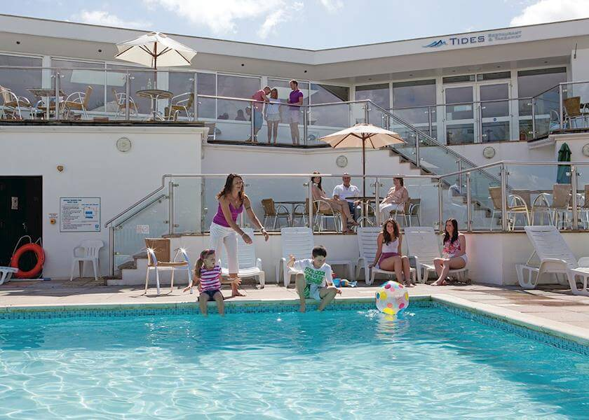 ashville holiday park outdoor-pool