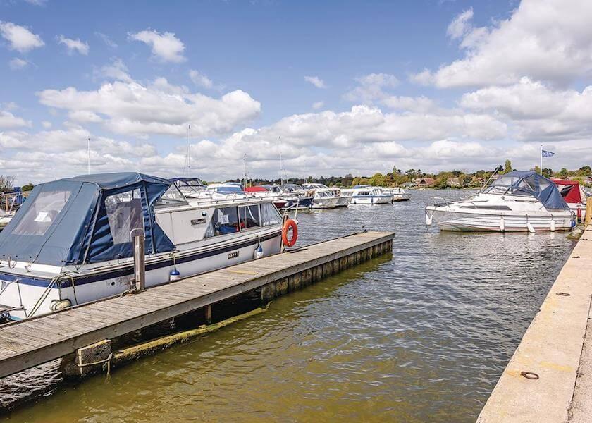 Broadlands Park and Marina Harbour