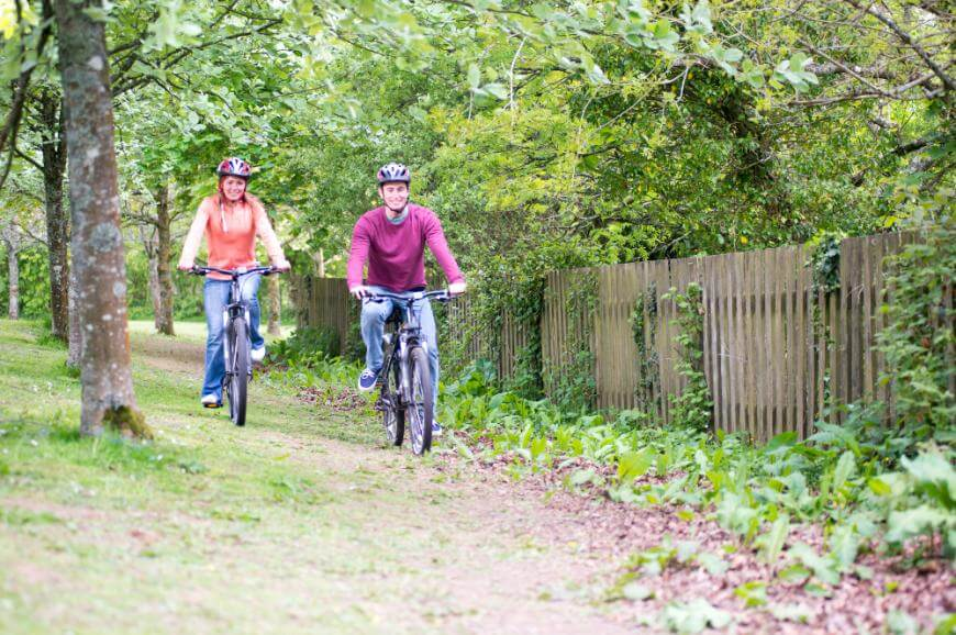 Trelawne Manor Holiday Park Biking