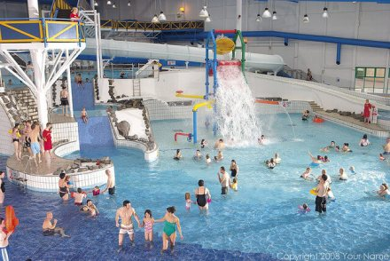 Craig Tara Indoor Pool - Craig Tara Holiday Park
