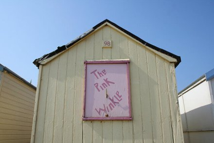 Beach Huts at Heacham Beach - Heacham Beach Holiday Park