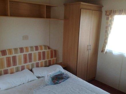 Caravan Bedroom at Primrose Valley - Primrose Valley Holiday Park
