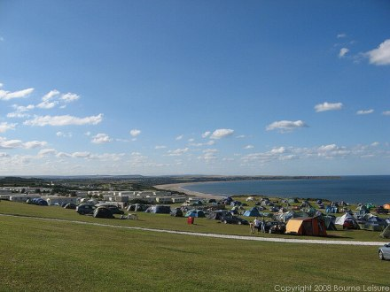 Reighton Sands Camping Field - Reighton Sands Holiday Park