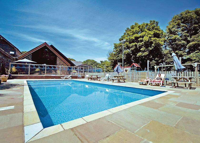 Watermouth Lodges Outdoor Pool