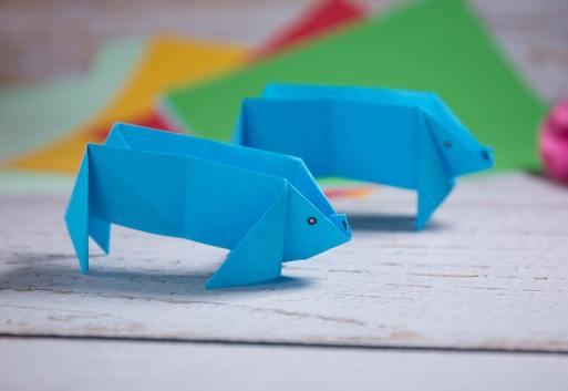 origami pig easy