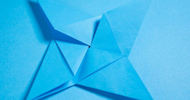 Origami 4-Pointed Star