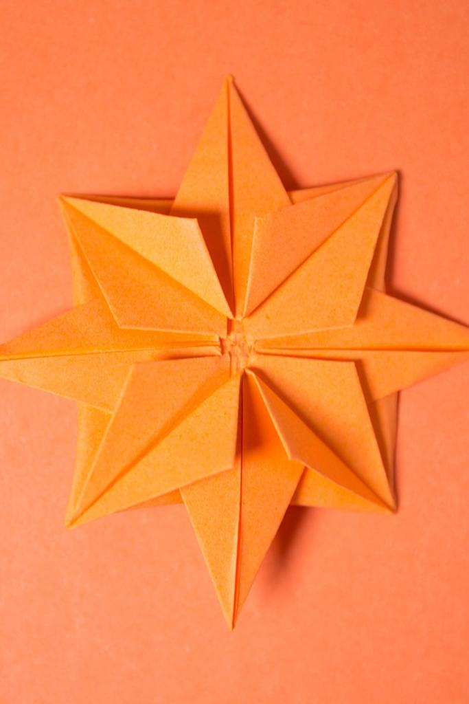 Origami 8-Pointed Star
