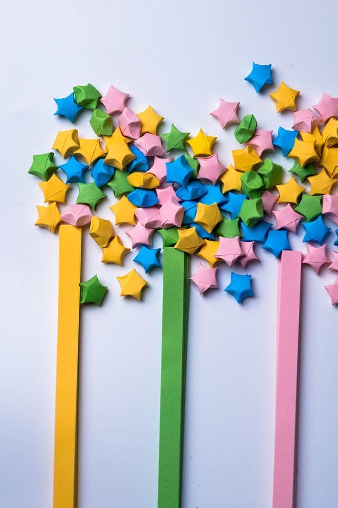 Origami Lucky Star
