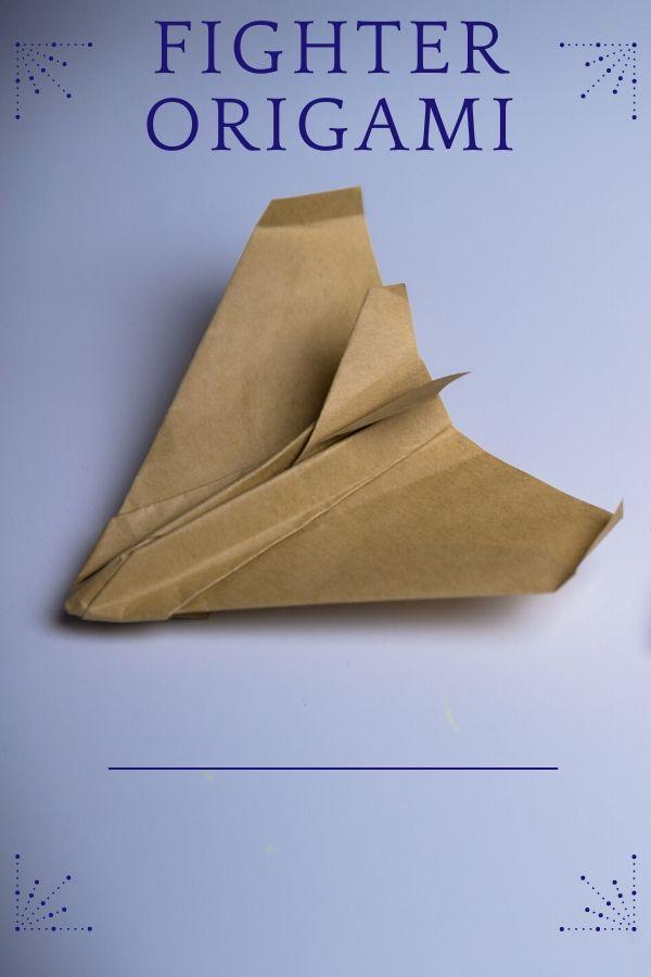 Fighter origami