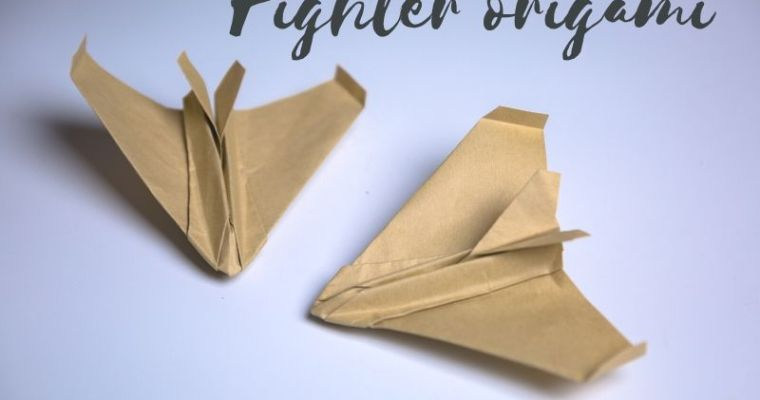 Fighter origami
